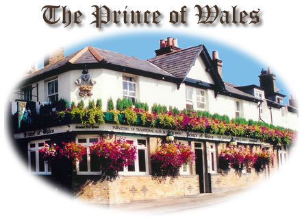 The Prince of Wales Pub, Anderson Road, Oatlands Village - between Weybridge, Surrey and Walton on Thames Surrey